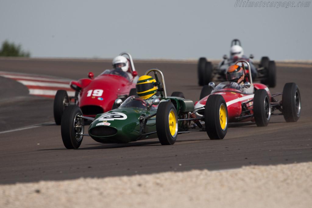 Lotus 27 - Chassis: 27/JM/14 - Driver: Urs Eberhardt  - 2014 Grand Prix de l'Age d'Or