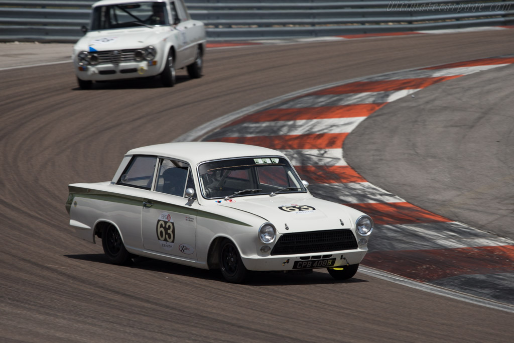 Lotus Cortina  - Driver: Grant Tromans  - 2014 Grand Prix de l'Age d'Or