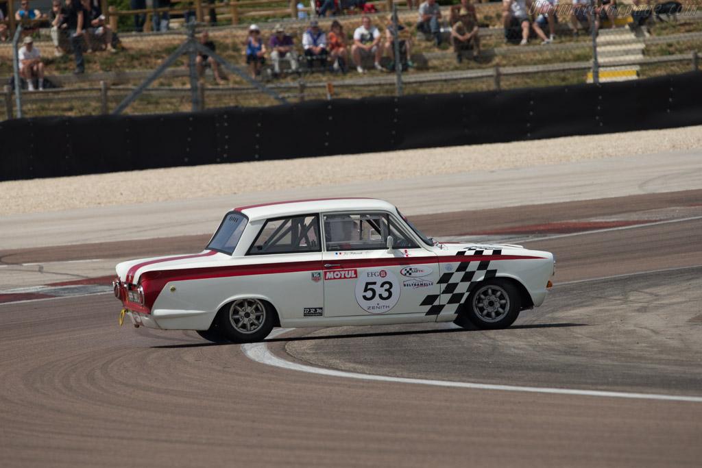 Lotus Cortina - Chassis: BA74EP59147 - Driver: Jose Beltramelli  - 2014 Grand Prix de l'Age d'Or