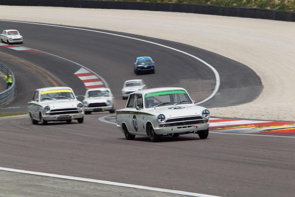 Lotus Cortina - Chassis: BA74EP59133 - Driver: Dion Kremer  - 2014 Grand Prix de l'Age d'Or