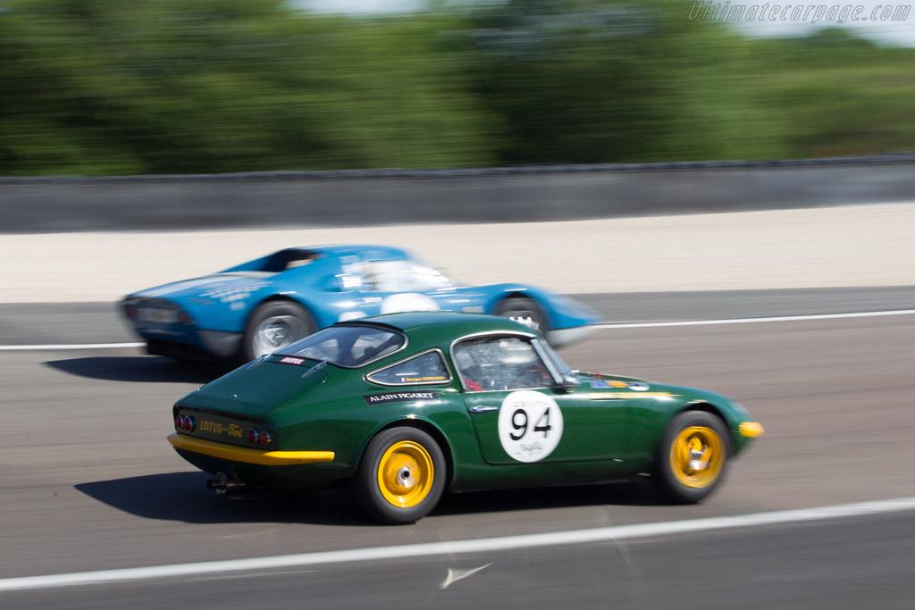 Lotus Elan 26R Shapecraft - Chassis: 26R-20 - Driver: Georges Verquin  - 2014 Grand Prix de l'Age d'Or
