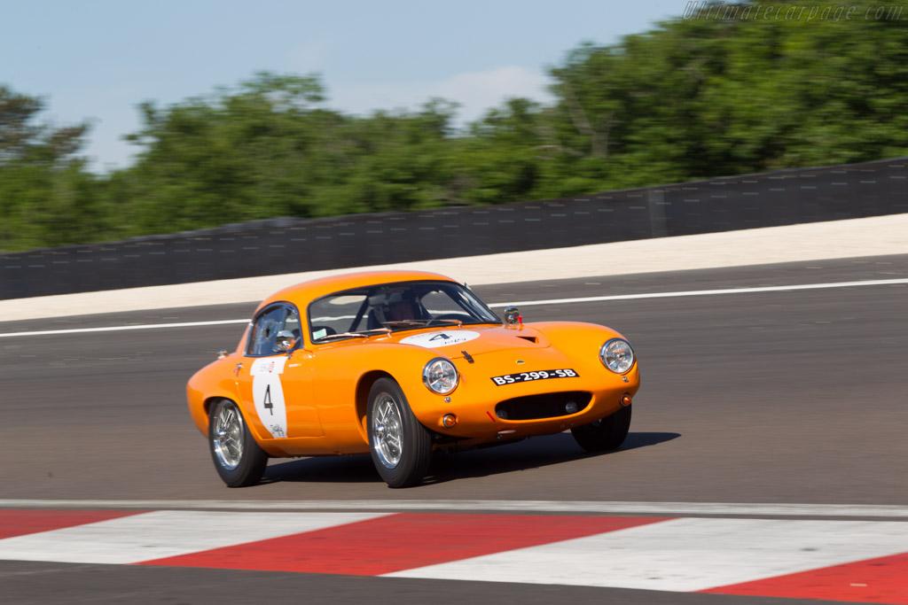 Lotus Elite - Chassis: 1380 - Driver: Patrick Hello  - 2014 Grand Prix de l'Age d'Or