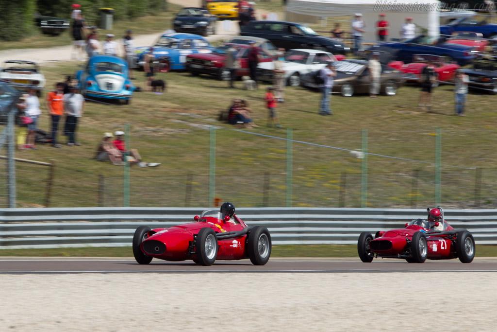 Maserati 250F Piccolo - Chassis: 2533 - Driver: Josef Rettenmaier  - 2014 Grand Prix de l'Age d'Or