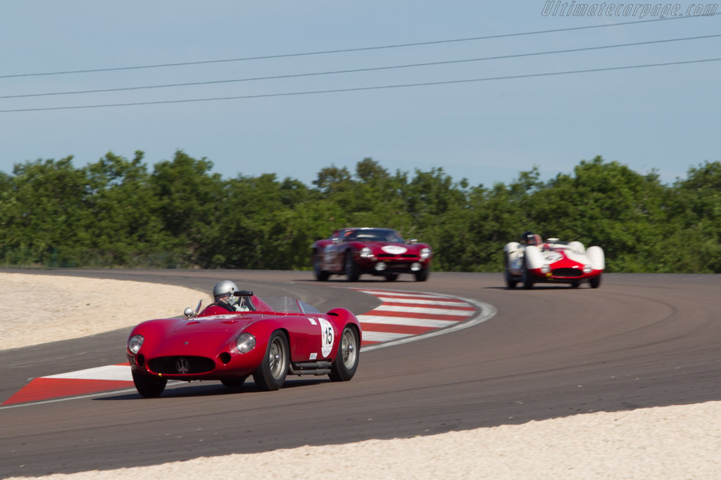 Maserati 300S - Chassis: 3054 - Driver: Stephan Rettenmaier  - 2014 Grand Prix de l'Age d'Or