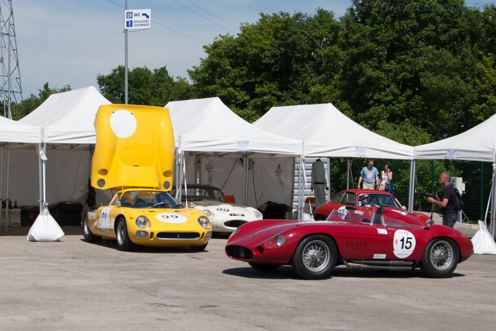 Maserati 300S - Chassis: 3054 - Entrant: Stephan Rettenmaier  - 2014 Grand Prix de l'Age d'Or
