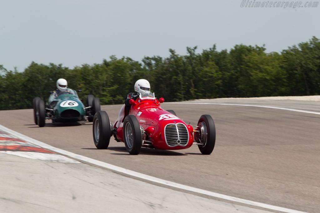 Maserati 4CLT - Chassis: 1600 - Driver: Rainer Ott  - 2014 Grand Prix de l'Age d'Or