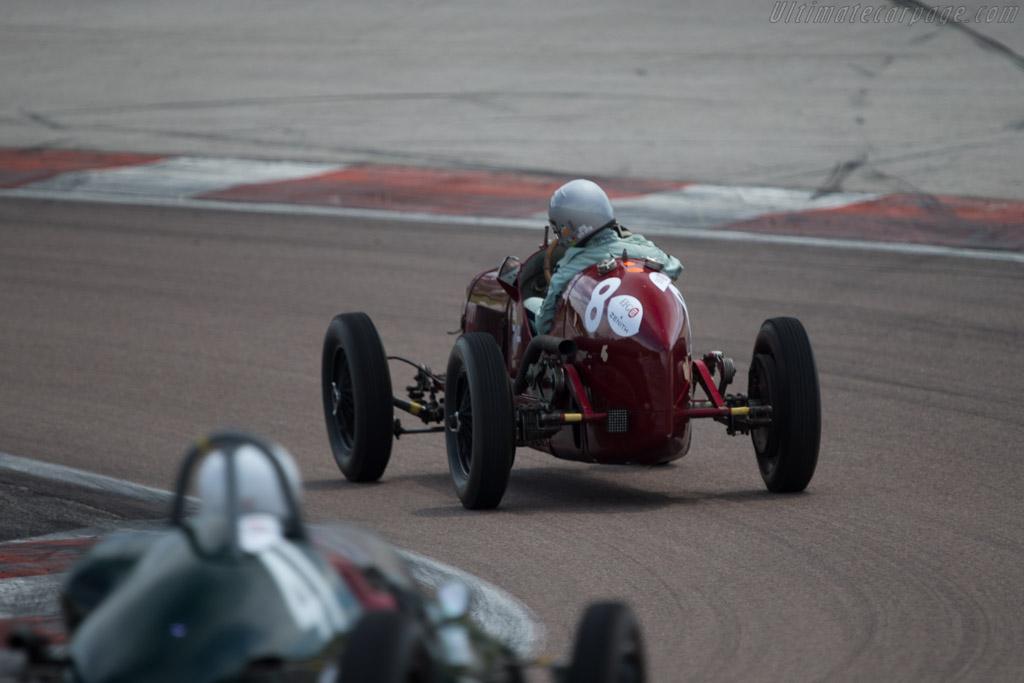 Maserati 8CM - Chassis: 3020 - Driver: Stephan Rettenmaier  - 2014 Grand Prix de l'Age d'Or