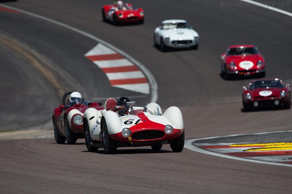 Maserati Tipo 61 Birdcage - Chassis: 2455 - Driver: Josef Rettenmaier  - 2014 Grand Prix de l'Age d'Or