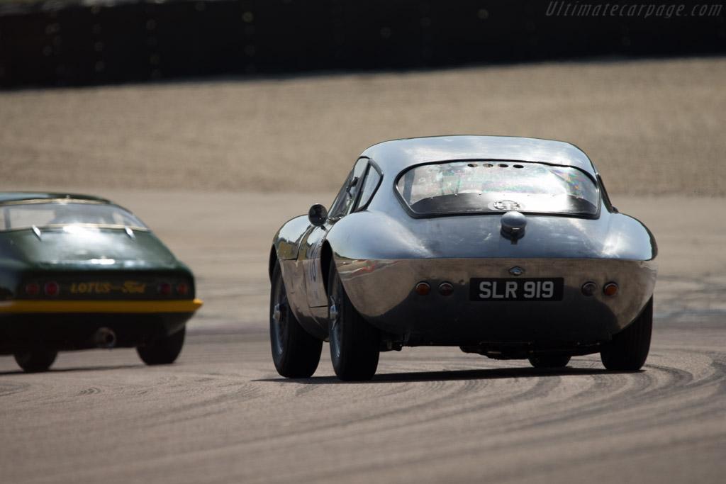 Morgan Plus 4 SLR - Chassis: SLR4 - Driver: John Emberson / Bill Wykeham  - 2014 Grand Prix de l'Age d'Or
