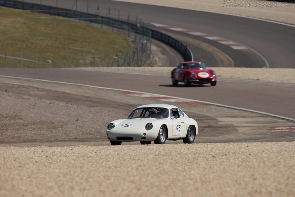 Porsche 365B Carrera Abarth GTL - Chassis: 1007 - Driver: David Fitzsimons / Neil Tolich  - 2014 Grand Prix de l'Age d'Or