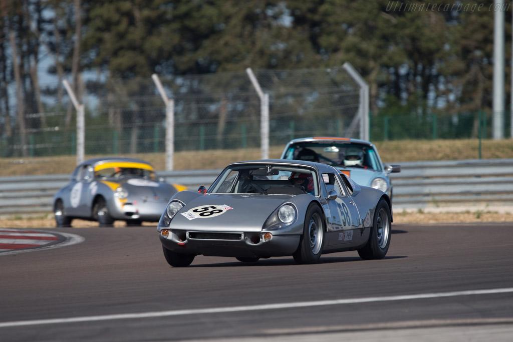 Porsche 904/6 - Chassis: 906-002 - Driver: Peter Vogele  - 2014 Grand Prix de l'Age d'Or