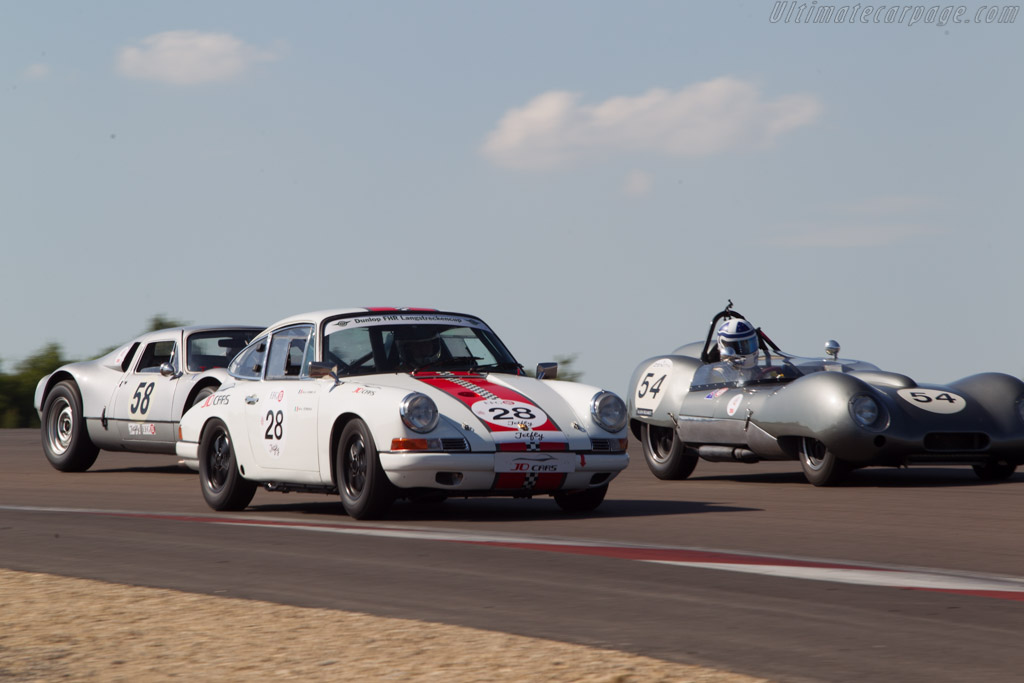 Porsche 911 - Chassis: 300481 - Driver: Jacky Daniel / Nicola Desimone  - 2014 Grand Prix de l'Age d'Or