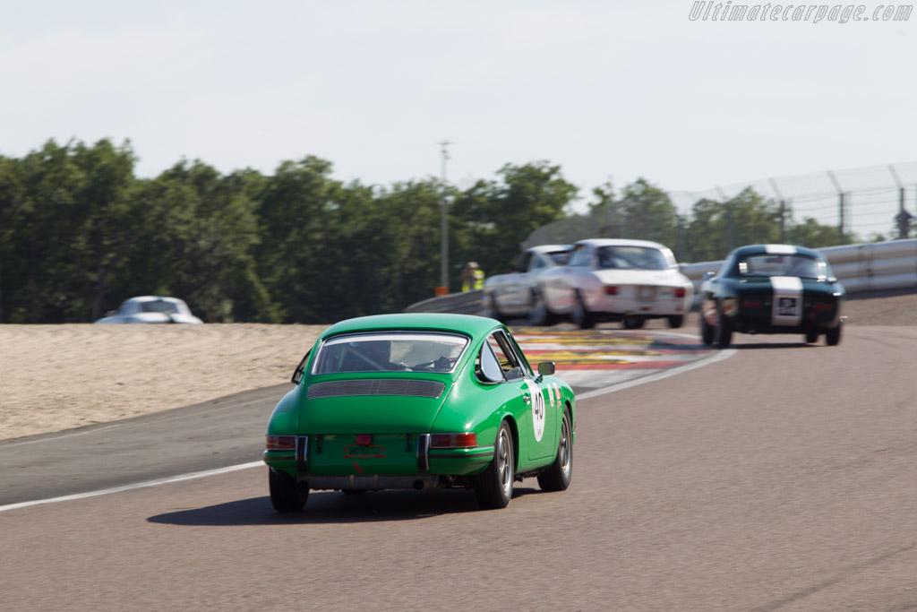 Porsche 911  - Driver: Eric Lecluse / Didier Braye  - 2014 Grand Prix de l'Age d'Or