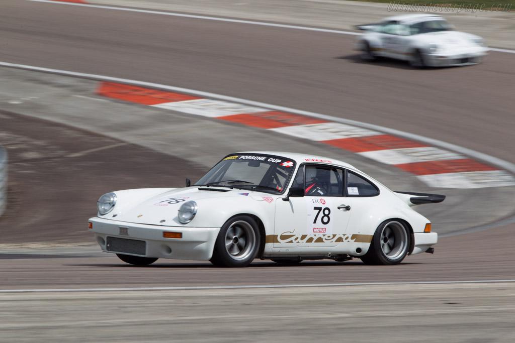 Porsche 911 Carrera RS 3.0 - Chassis: 911 460 9084 - Driver: Jean-Maurice Rey / Sebastien Eberhard  - 2014 Grand Prix de l'Age d'Or