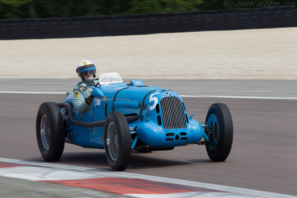 Talbot Lago T26 SS - Chassis: 90202 - Driver: Richard Pilkington  - 2014 Grand Prix de l'Age d'Or