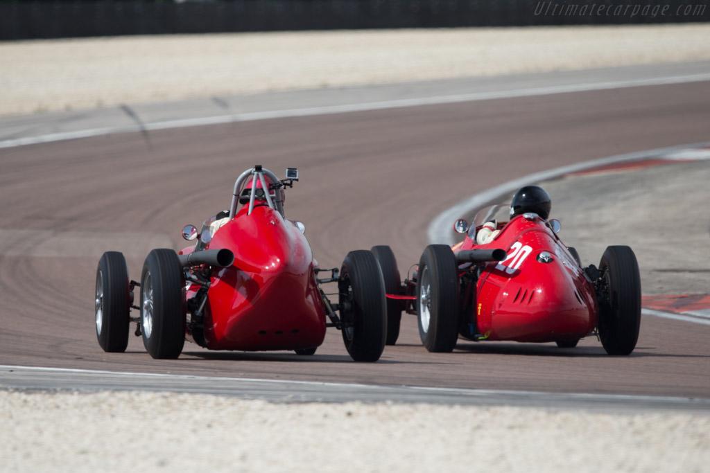 TecMec Maserati - Chassis: F415 - Driver: Tony Wood  - 2014 Grand Prix de l'Age d'Or