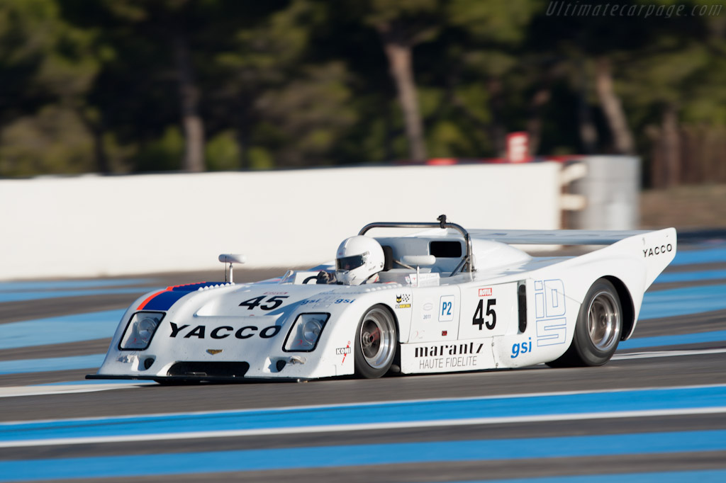Chevron B36 - Chassis: 36-76-04 - Driver: Martin O'Connell - 2011 Dix Mille Tours