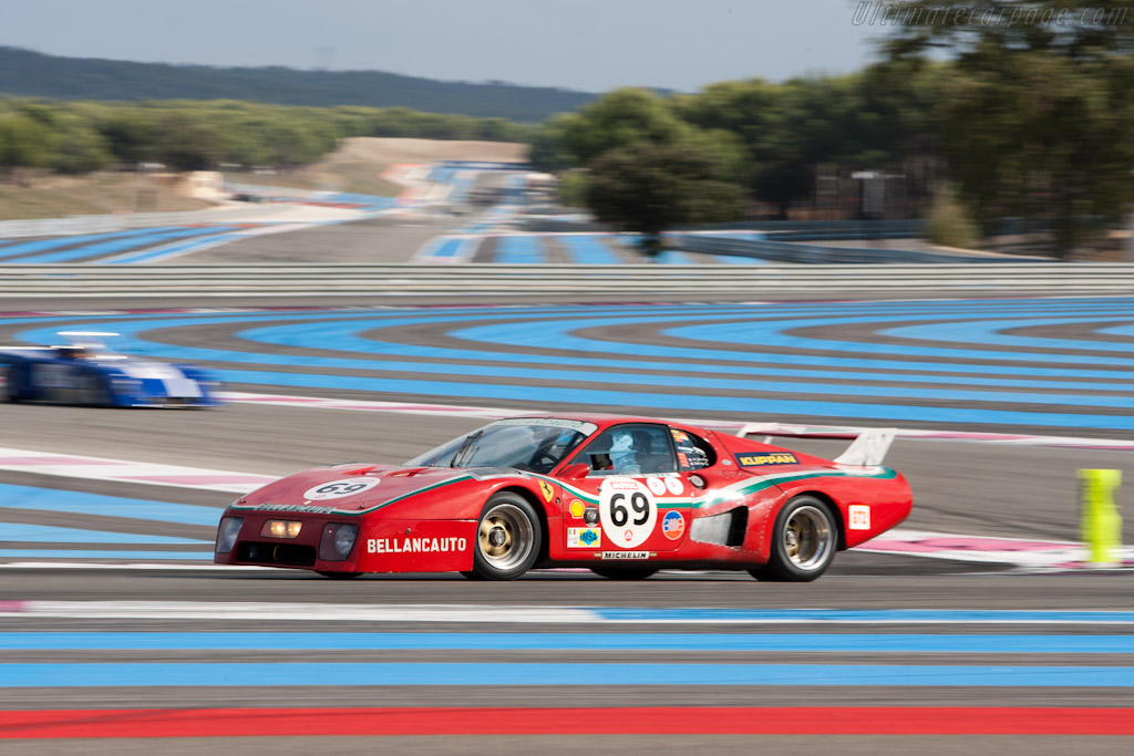 Ferrari 512 BB LM - Chassis: 28601 - Driver: Mr John of B  - 2011 Dix Mille Tours