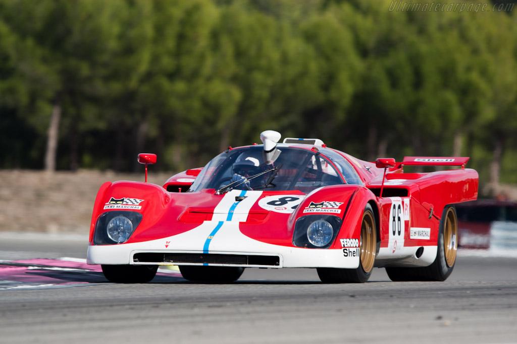 Ferrari 512 M - Chassis: 1024 - Driver: Steven Read  - 2011 Dix Mille Tours