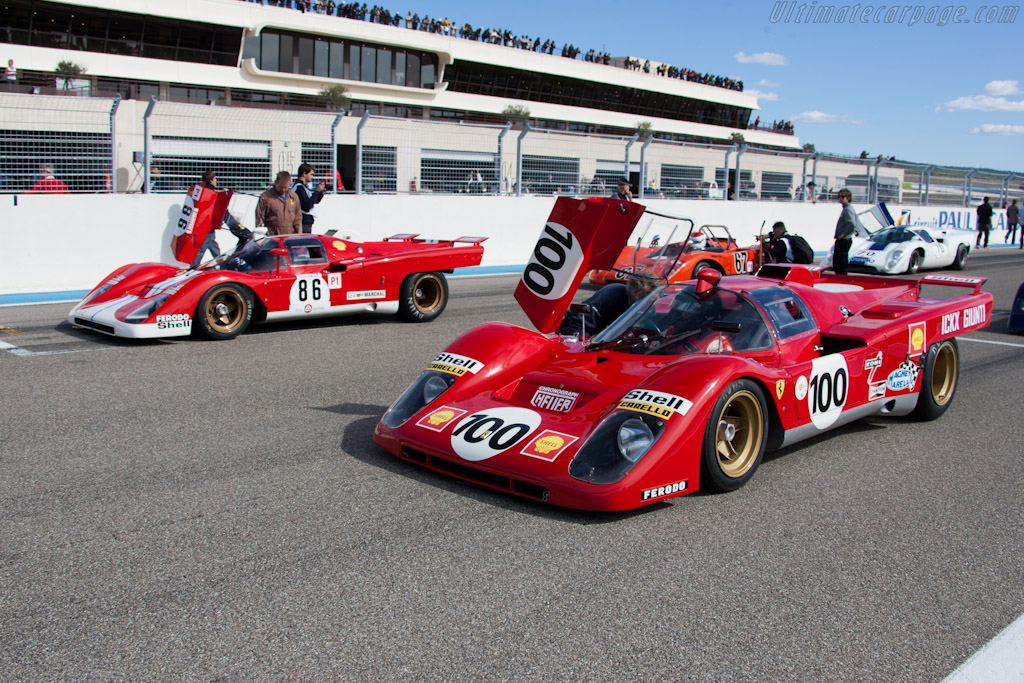 Ferrari 512 Ms  - Driver: Paul Knapfield  - 2011 Dix Mille Tours