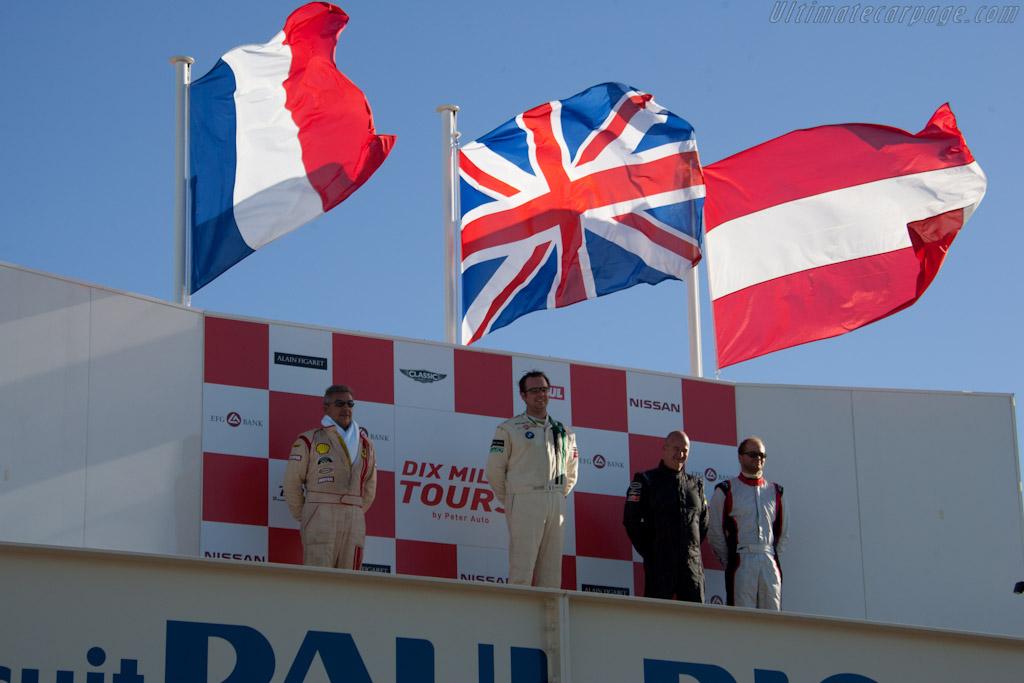 GT2 Podium    - 2011 Dix Mille Tours