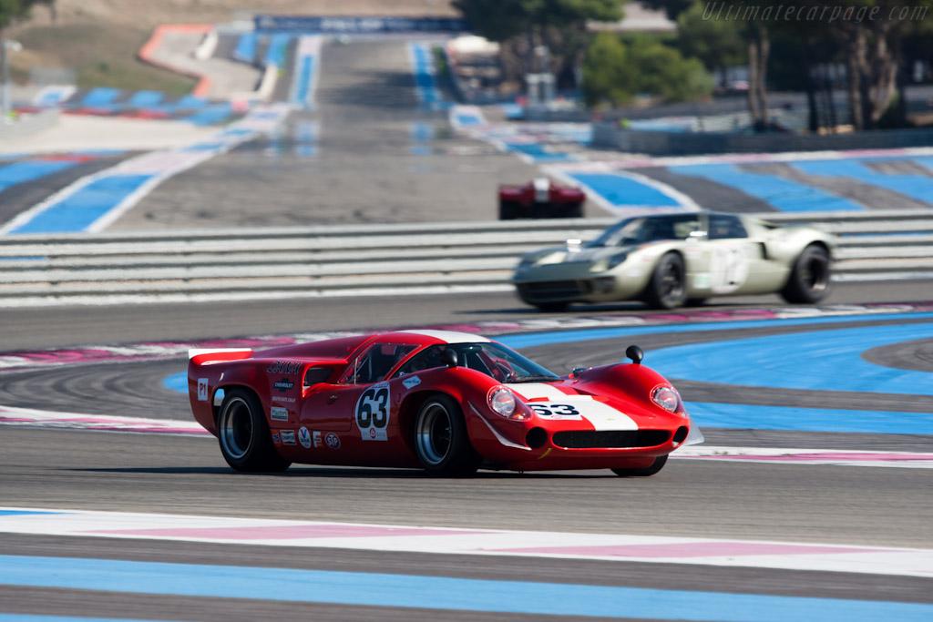 Lola T70 Mk3 Coupe - Chassis: SL73/114 - Driver: Marc Devis  - 2011 Dix Mille Tours