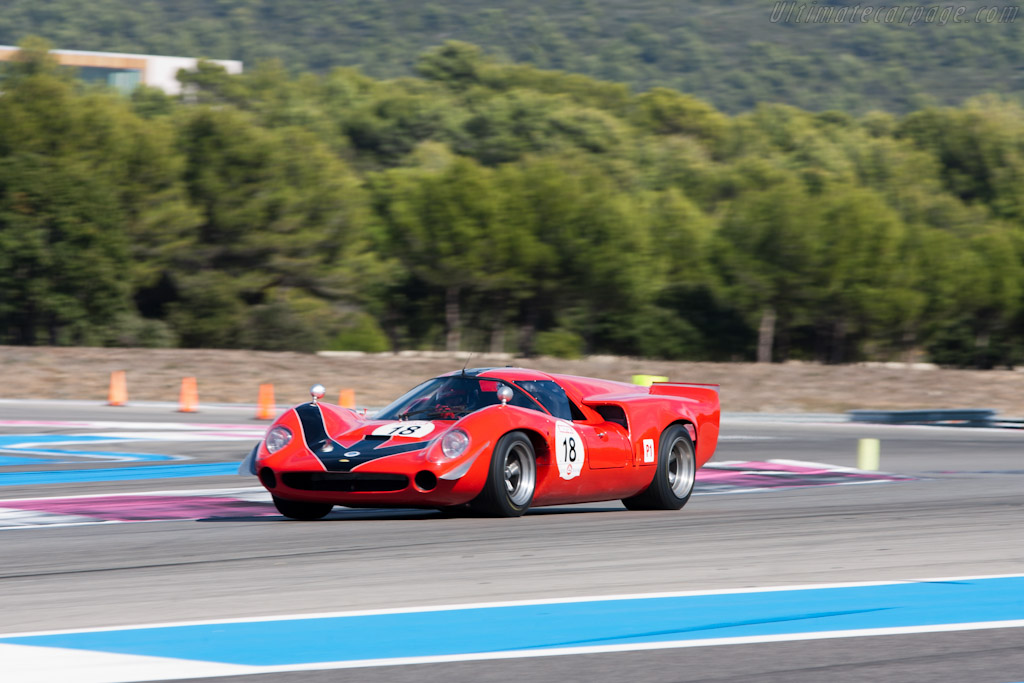 Lola T70 Mk3 Coupe - Chassis: SL73/110 - Driver: Bernard Thuner  - 2011 Dix Mille Tours