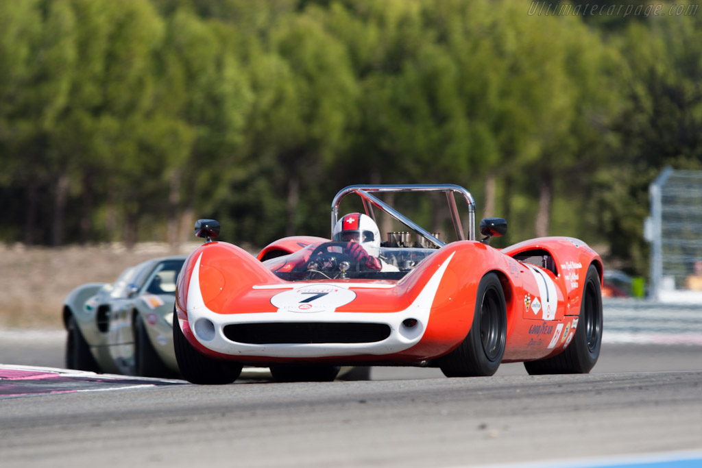 Lola T70 Mk3 Spyder - Chassis: SL73/129  - 2011 Dix Mille Tours