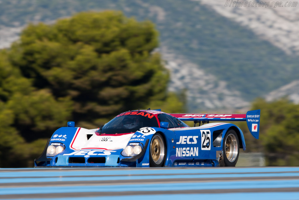 Nissan R90C - Chassis: R90C/5 - Driver: Katsu Kubota  - 2011 Dix Mille Tours