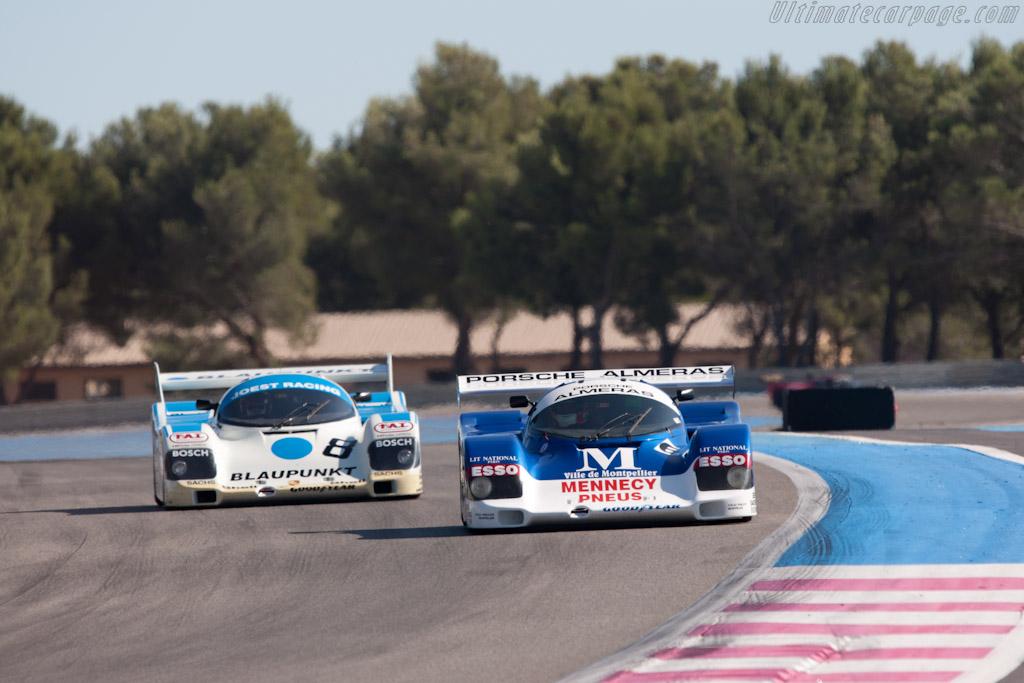 Porsche 962C - Chassis: 962-110 T2   - 2011 Dix Mille Tours