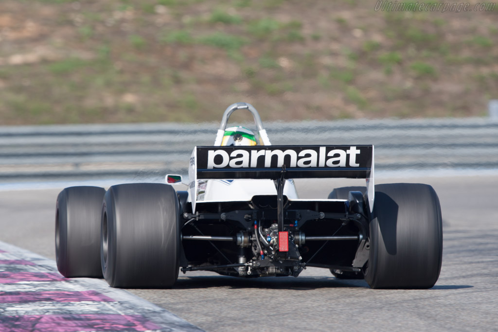 Brabham BT49C Cosworth - Chassis: BT49C/10 - Driver: Joaquin Folch-Rossinol  - 2012 Dix Mille Tours