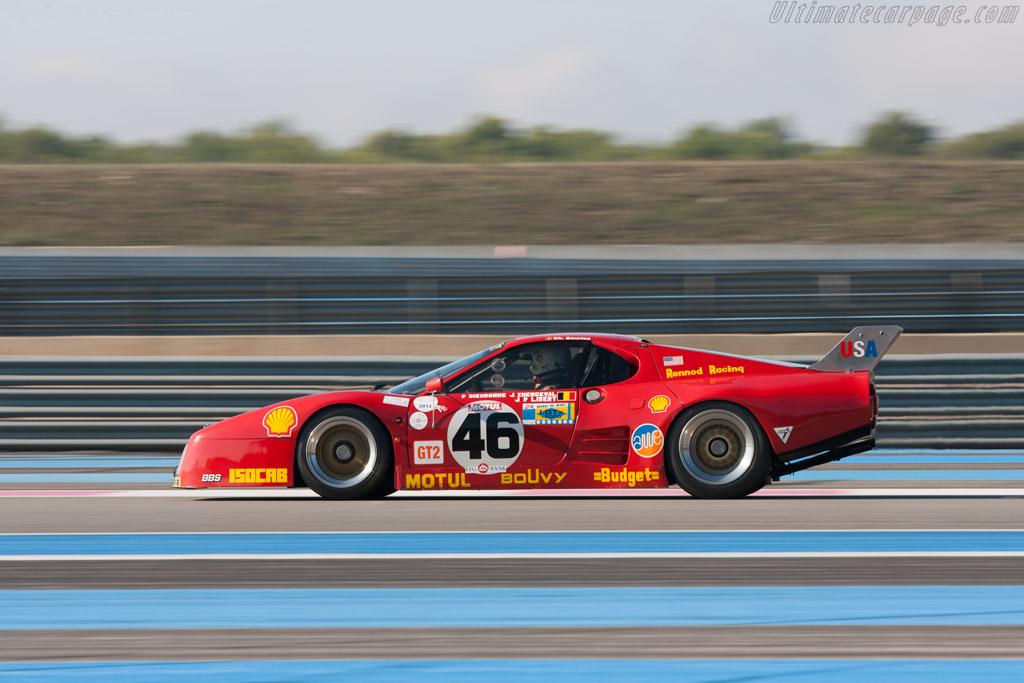 Ferrari 512 BB LM - Chassis: 35525 - Driver: Christian Bouriez  - 2012 Dix Mille Tours