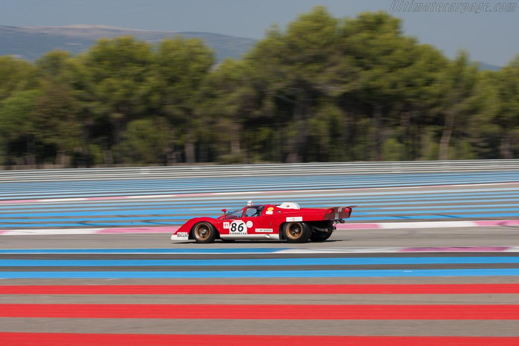 Ferrari 512 M - Chassis: 1024 - Driver: Steven Read  - 2012 Dix Mille Tours