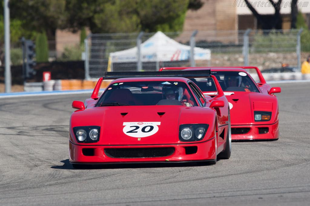 Ferrari F40 - Chassis: 93572   - 2012 Dix Mille Tours