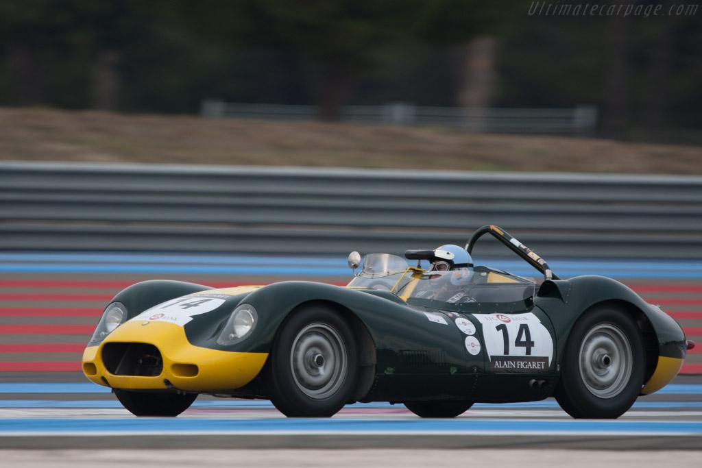 Lister Knobbly Jaguar    - 2012 Dix Mille Tours