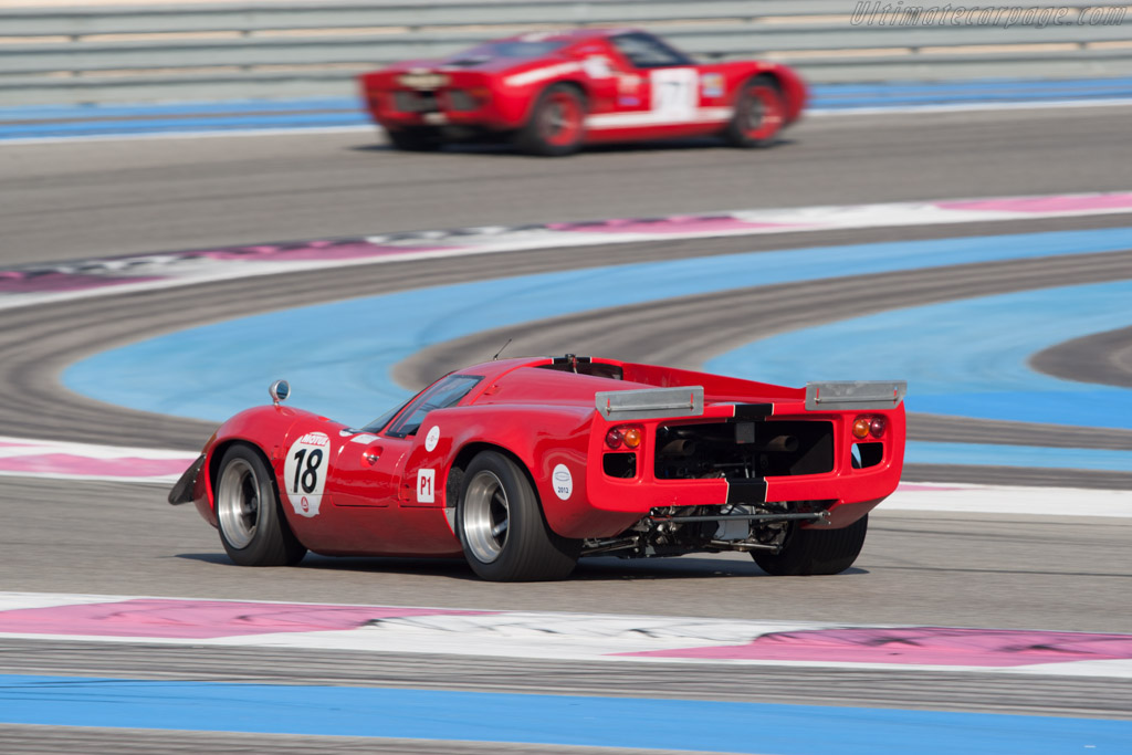Lola T70 Mk3 - Chassis: SL73/110 - Driver: Bernard Thuner  - 2012 Dix Mille Tours