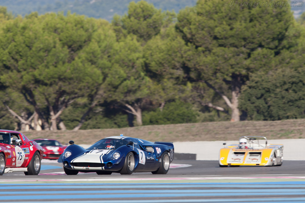 Lola T70 Mk3 - Chassis: SL73/118   - 2012 Dix Mille Tours