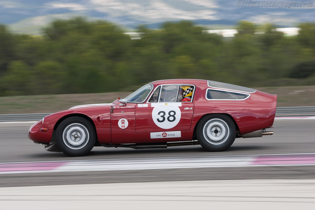 Alfa Romeo TZ - Chassis: AR750098 - Driver: Lucien Guitteny  - 2013 Dix Mille Tours