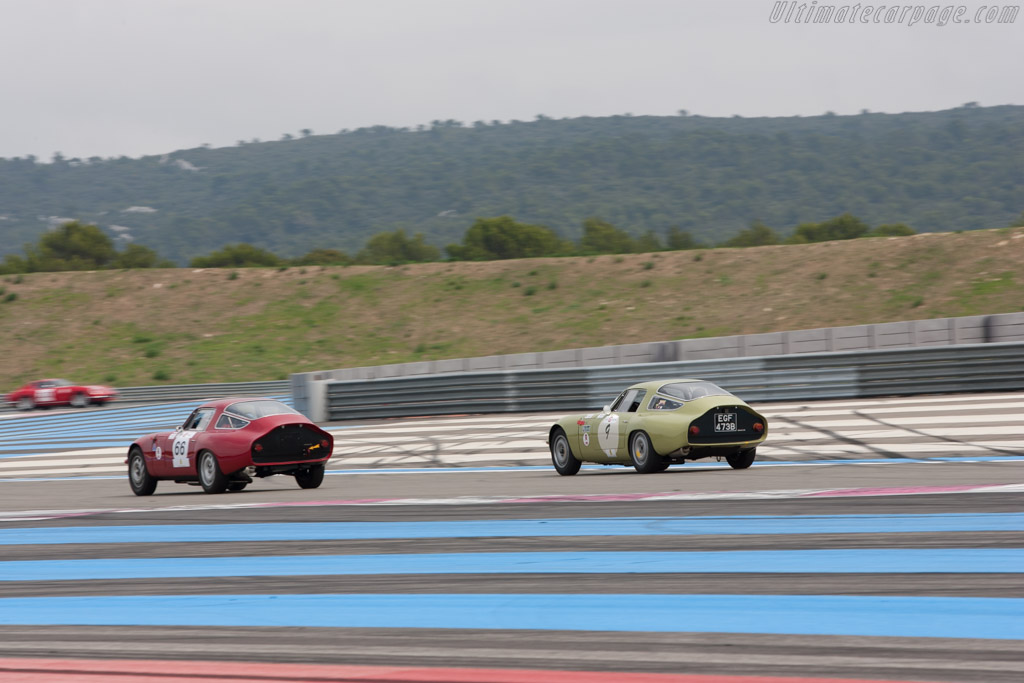 Alfa Romeo TZ - Chassis: AR750017 - Driver: Yves Vogele  - 2013 Dix Mille Tours