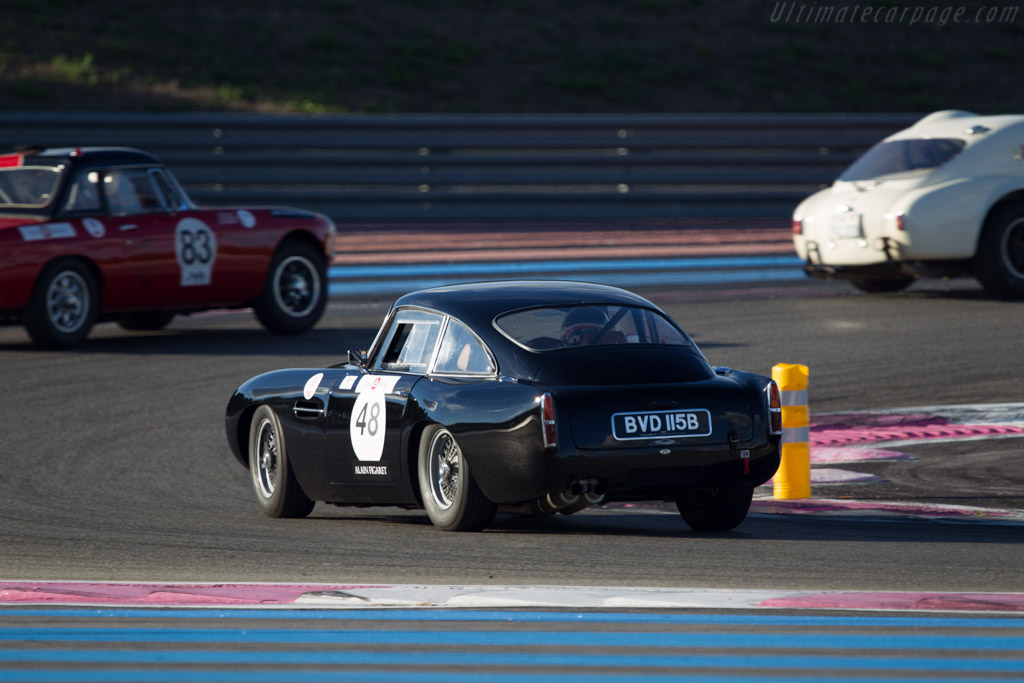 Aston Martin DB4 GT - Chassis: DB4GT/0137/R - Driver: Dennis Singleton  - 2013 Dix Mille Tours
