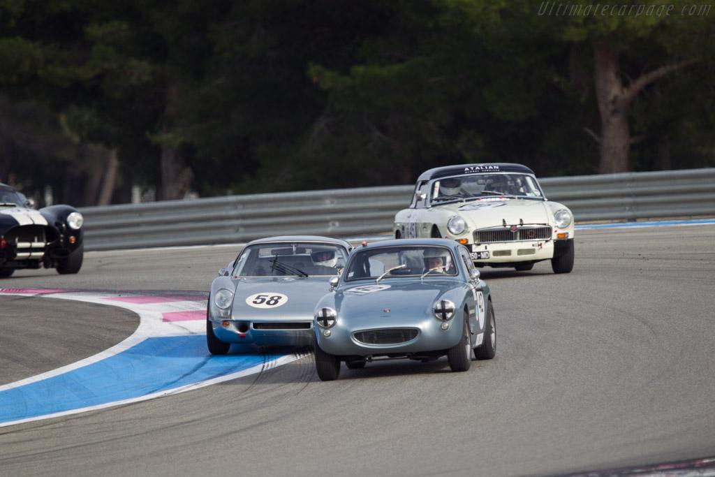 Austin Healey Sebring Sprite - Chassis: AN5L 30489 - Driver: Laurent Soubirac/Vincent  Cuzacq  - 2013 Dix Mille Tours