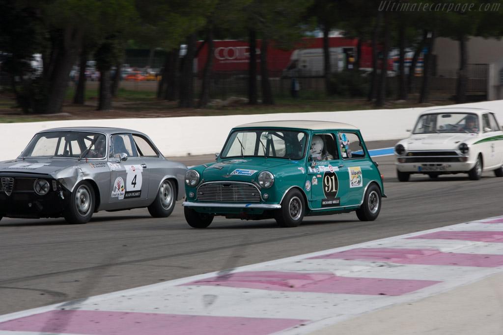 Austin Mini Cooper S Driver Jean Charles Guigues