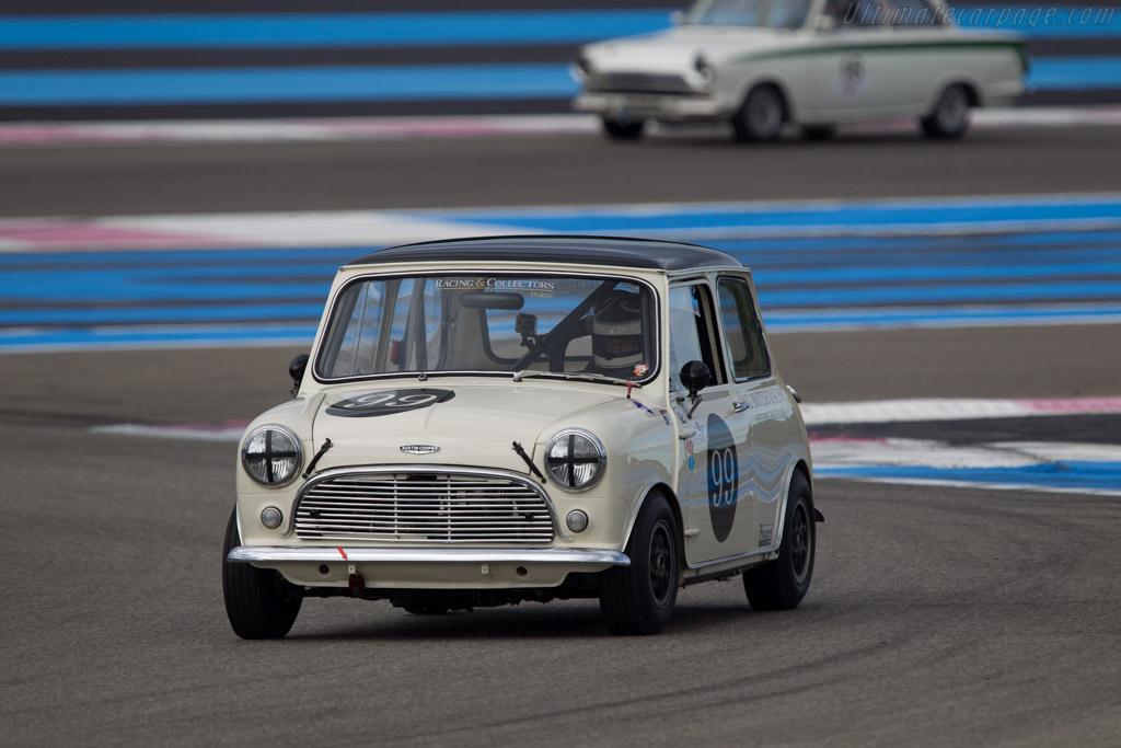 Austin Mini Cooper S  - Driver: Laurent Majou  - 2013 Dix Mille Tours