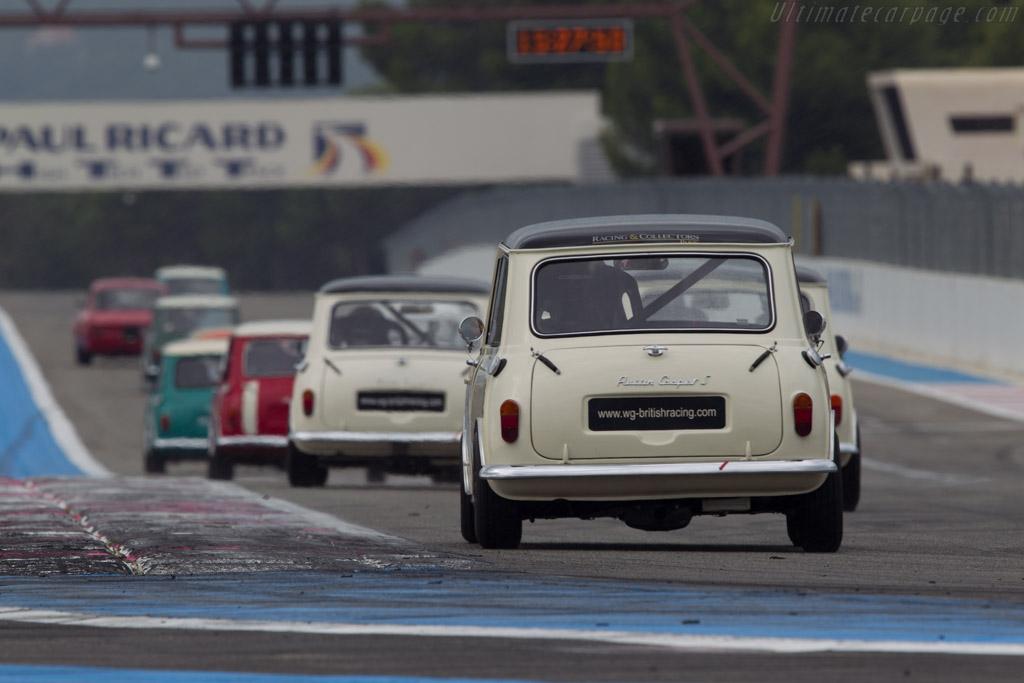 Austin Mini Cooper S  - Driver: Dominique Rosello / Guillaume Gagnard  - 2013 Dix Mille Tours