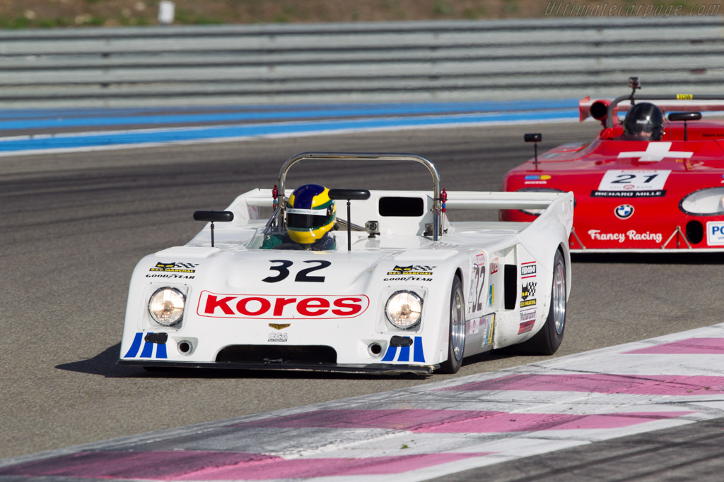 Chevron B31 - Chassis: B31-75-01 - Driver: James Hanson  - 2013 Dix Mille Tours
