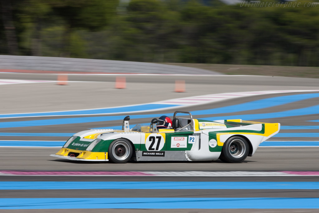 Chevron B36 BMW - Chassis: 36-76-03 - Driver: Lucien Rossiaud  - 2013 Dix Mille Tours
