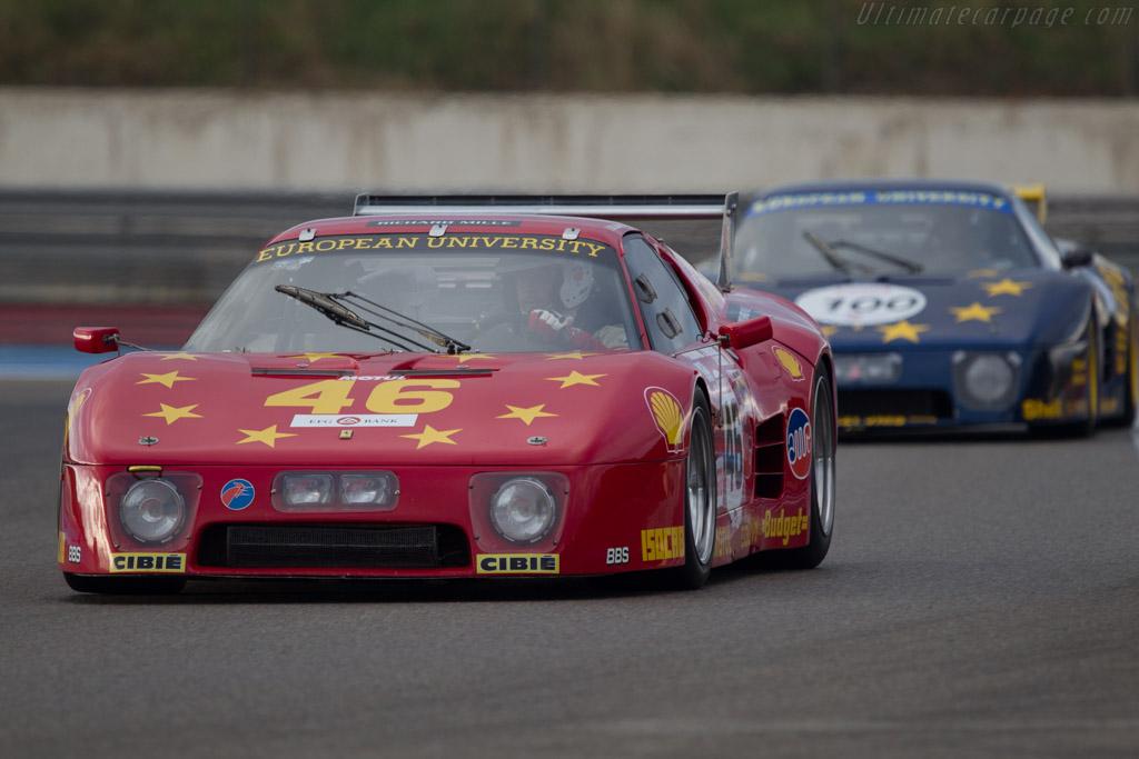 Ferrari 512 BB LM - Chassis: 35525 - Driver: Christian Bouriez  - 2013 Dix Mille Tours