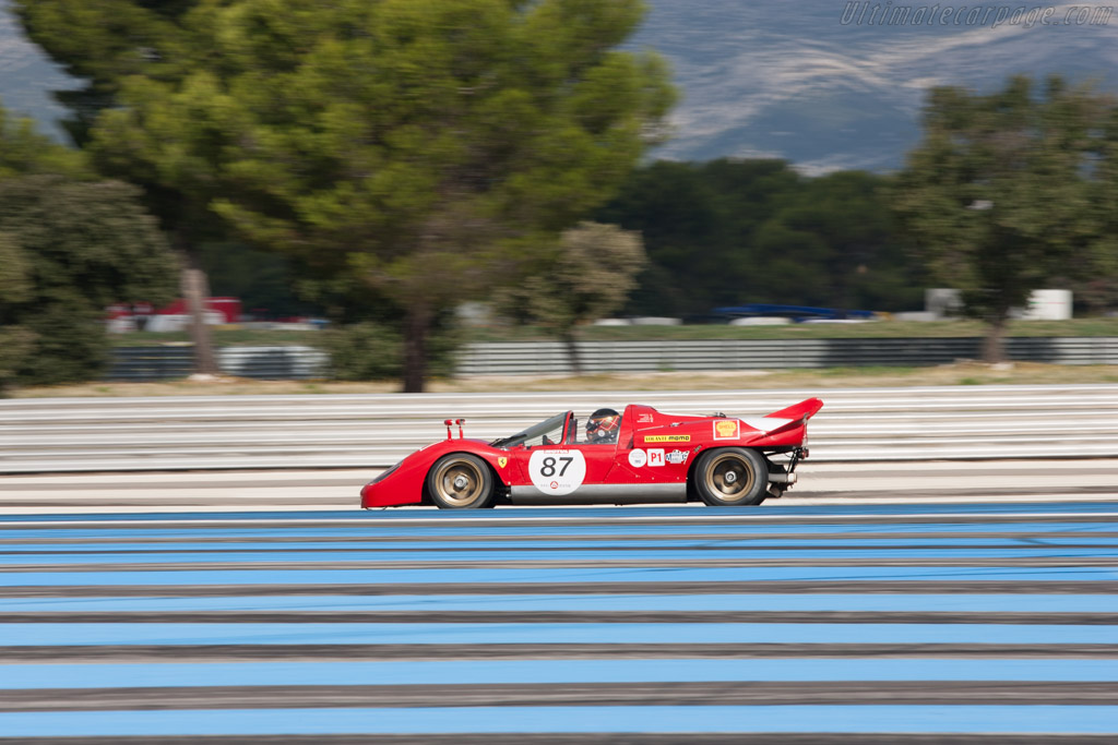 Ferrari 512 S - Chassis: 1004 - Driver: Peter Read  - 2013 Dix Mille Tours