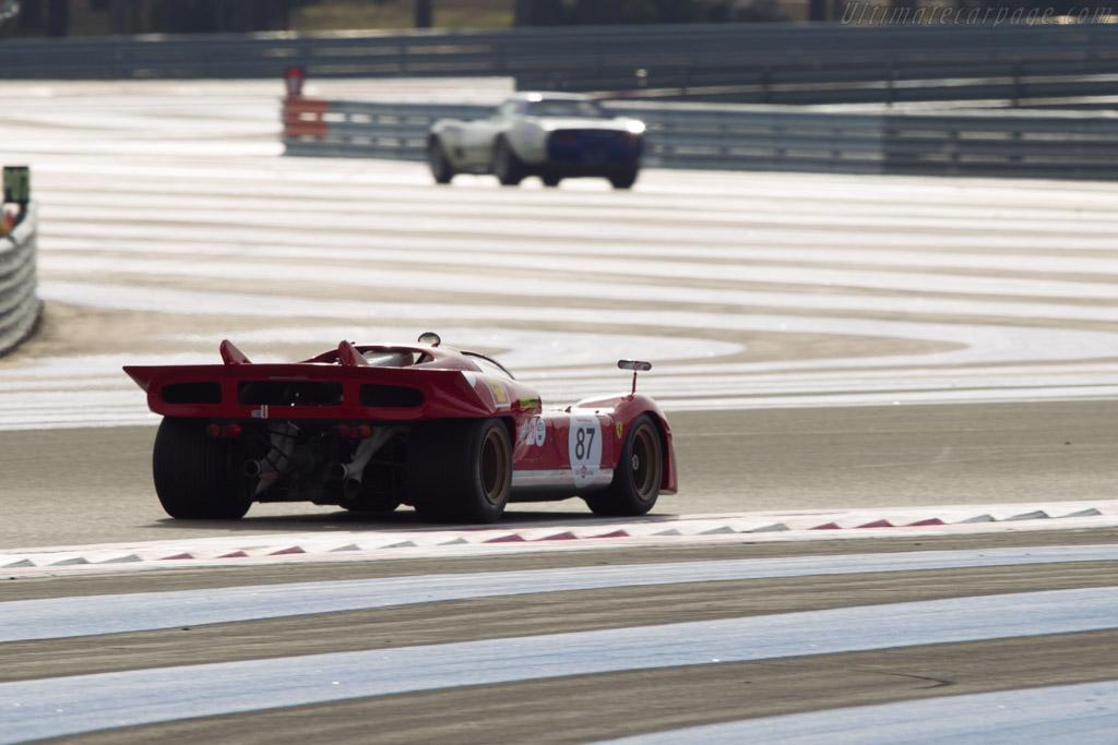 Ferrari 512 S - Chassis: 1004 - Driver: Bob Earl  - 2013 Dix Mille Tours