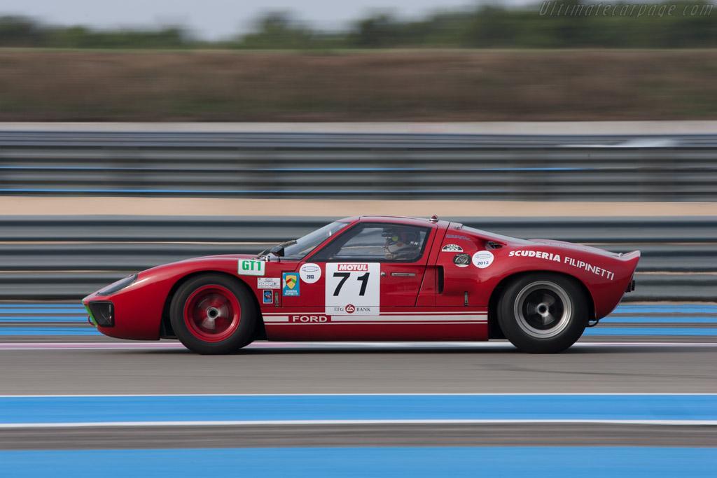 Ford GT40  - Driver: Marc Doncieux  - 2013 Dix Mille Tours